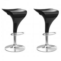 SGABELLO MALAGA XH-198, coppia di sgabelli design,stool nero