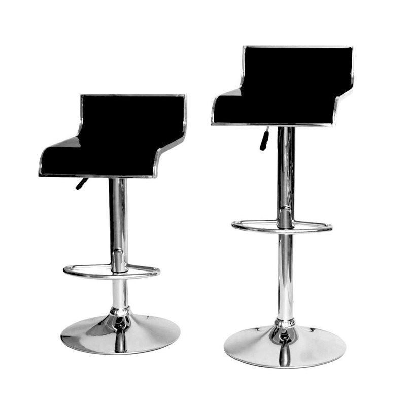 Sgabello shanghai xh 101 1 coppia sgabelli design stool. nero