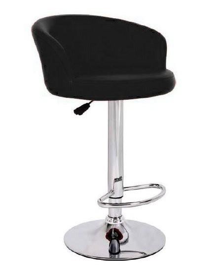 Sgabello hamburg xh 215 1 coppia di sgabelli design stool. nero