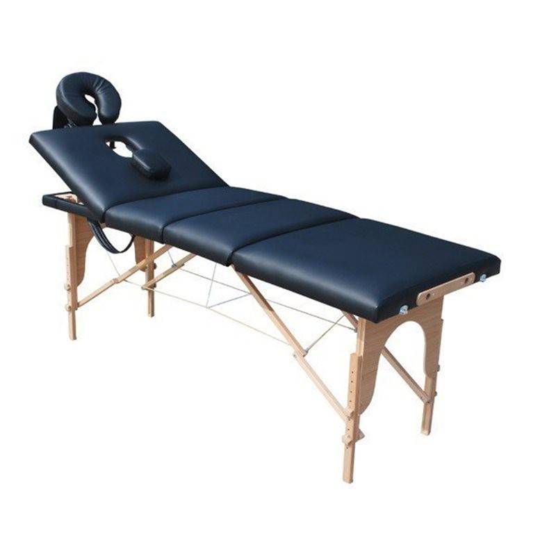 Lettino Da Massaggio Portatile Leggero.Lettino Da Massaggio 4 Zone Strong 10 Cm Imbottitura Triplo Strato