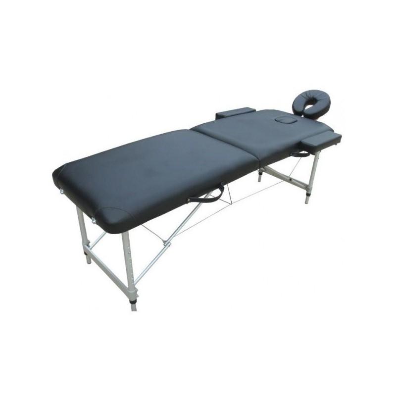 Lettino Massaggio Portatile Leggero.Lettino Massaggio Alluminio 2 Zone 6 Cm Imbottitura Fd060 Super Le