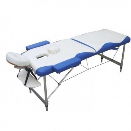 Lettino Da Massaggio Portatile In Alluminio.Lettino Massaggio Alluminio 2 Zone 6 Cm Imbottitura Fd060 Super Le