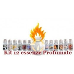 Kit 12 ESSENZE profumate per bioetanolo biocamini essenze profumate