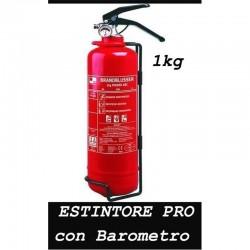 ESTINTORE antincendio da 1 KG con barometro