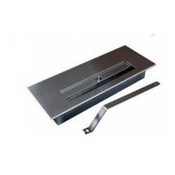 BRUCIATORE 1,5 lit FDB32 professionale acciaio inox per biocamino