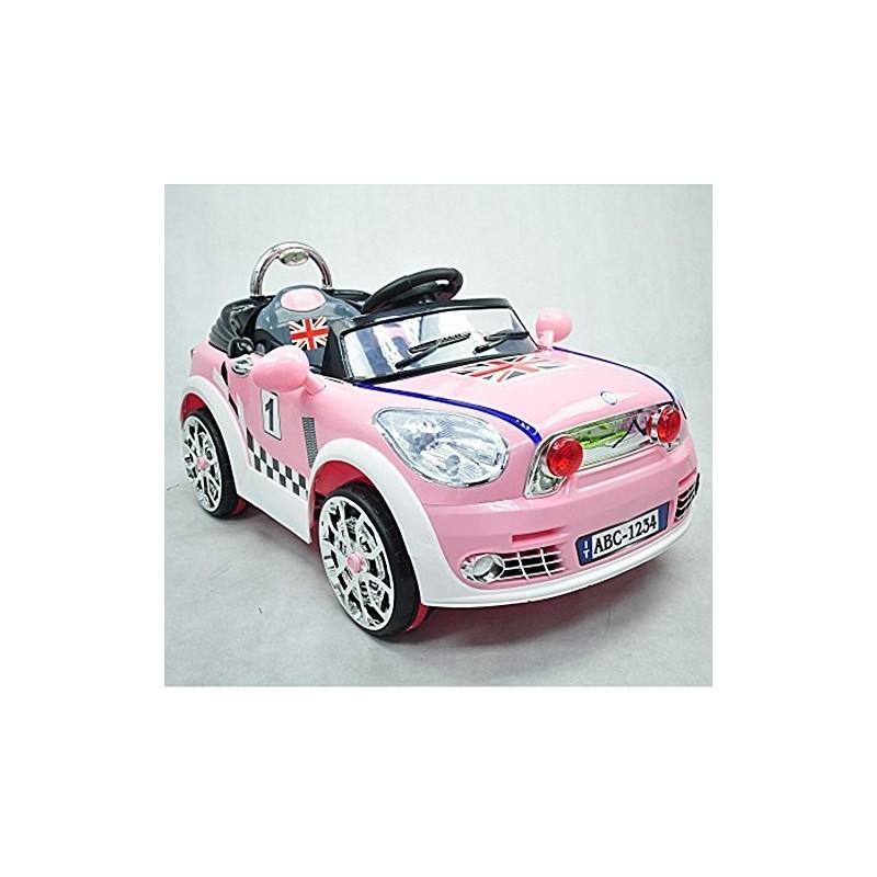 Colibri Mini Auto Macchina Elettrica Coupe Rosa Gioco Bimbi Mp3