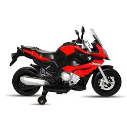 Moto Motocicletta Elettrica 12V Per Bambini Bmw S1000 XR Rosso