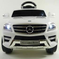 Auto Macchina Elettrica Mercedes ML Bianco 6V 1 Posti Per Bambini