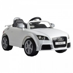 Auto Macchina Elettrica Audi TT Bianco 12V Per Bambini