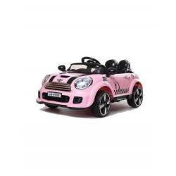 Auto Macchina Elettrica Rally Coupè Rosa 12V Per Bambini