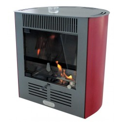 Stufa a bioetanolo ventilata Ruby Smart