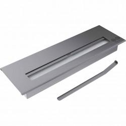 BRUCIATORE 1,8 lit professionale acciaio inox per biocamino